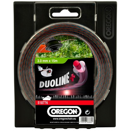 Żyłka tnąca DUOLINE PLUS 2,4mm x 15m