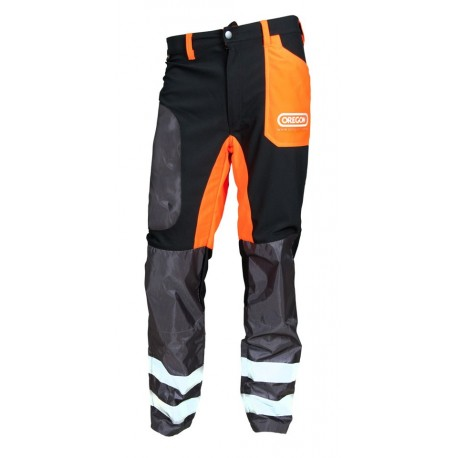 Spodnie ochronne dla operatorów kos i wykaszarek (rozmiar S)