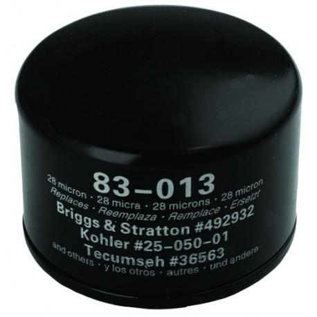 Filtr oleju do silników kosiarki (Briggs & Stratton 492932)