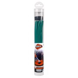 Żyłka do kosy zielona Techni-Blade 5,0mm x 26cm x 70szt.