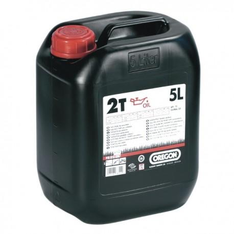 Olej do silników 2-suwowych 5L OREGON czerwony