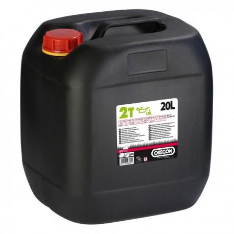 Olej do silników 2-suwowych 20L OREGON zielony