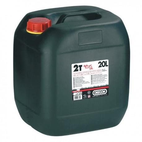 Olej do silników 2-suwowych 20L OREGON czerwony