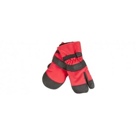 Rękawice zimowe dla pilarza - 3 palce, Fiordland, L
