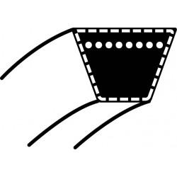 Pasek klinowy MTD Spider76/91/76RD, RH115/76, JA115- napęd jazdy - silnik KEVLAR (17 x 1320,8) (754-