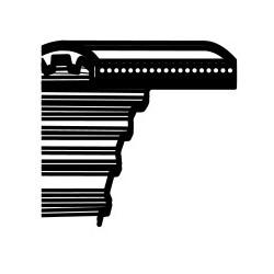 Pasek klinowy Castelgarden TC102,Solo 570,Stiga Estste 102 - napęd noży (1600DS8M20) (35065600)