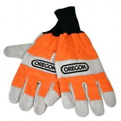 Rękawice dla pilarza, antyprzecięciowe (ochrona lewej dłoni) - L
