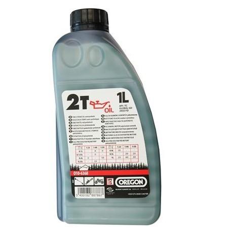 Olej do silników 2-suwowych 1L OREGON zielony