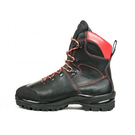 Skórzane antyprzecięciowe buty dla pilarza, Klasa 1 (rozmiar 43)