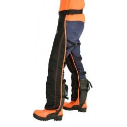 Uniwersalne Nogawice ochronne dla pilarza