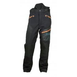Spodnie antyprzecięciowe zimowe Fiordland Oregon, typ A klasa 1, S