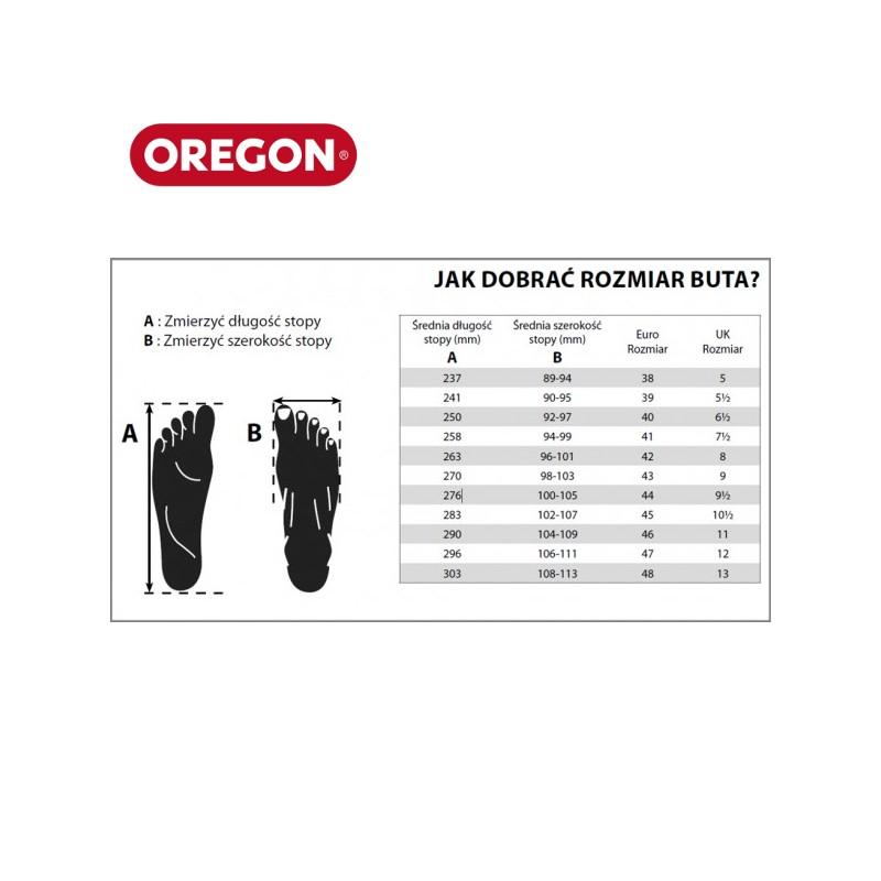 a0be5fb61eca1 Buty skórzane FIORDLAND dla pilarzy (rozmiar 42) · Jak dobrać rozmiar butów  antyprzecięciowych dla pilarzy.