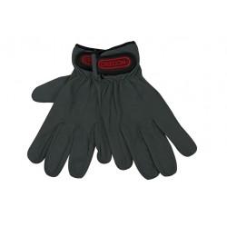 Rękawice robocze, skórzane - L