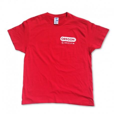 Koszulka OREGON czerwona XXL