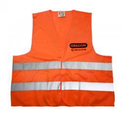 Odblaskowa kamizelka OREGON® pomarańczowa (XXL) - Przód
