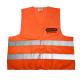 Odblaskowa kamizelka OREGON® pomarańczowa (XL) - Przód