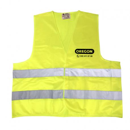 Odblaskowa kamizelka OREGON® żółta (XXXL) - Przód