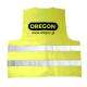 Odblaskowa kamizelka OREGON® żółta (XXXL) - Tył