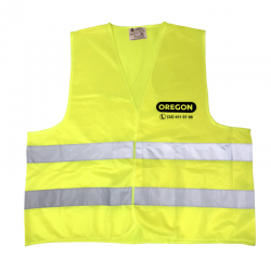 Odblaskowa kamizelka OREGON® żółta (L) - Przód