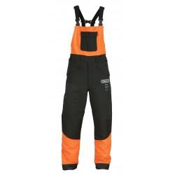 Spodnie antyprzecięciowe WAIPOUA II, ogrodniczki Klasa 1 (Typ A) - S