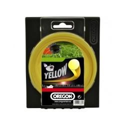 Żyłka do kosy okrągła 1,6mm x 15m (Żółta)