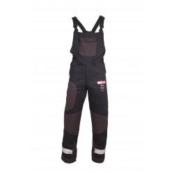 Spodnie antyprzecięciowe YUKON+, ogrodniczki Klasa 1 (Typ A) - M