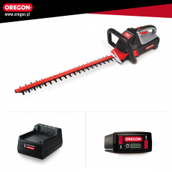 Nożyce akumulatorowe do żywopłotu Oregon HT255E (z baterią i ładowarką)