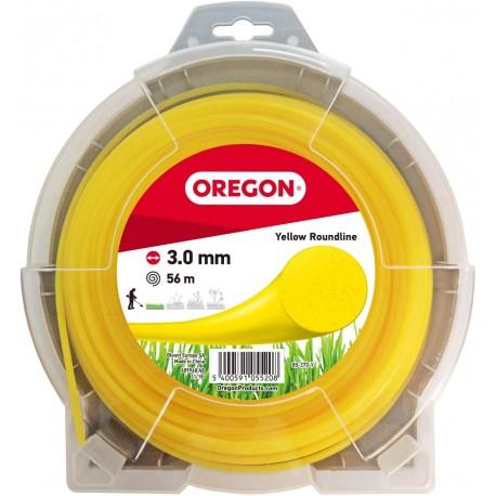 Żyłka do kosy okrągła OREGON 3,0mm x 56m (zielona)