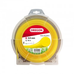 Żyłka do kosy okrągła OREGON 3,0mm x 15m (żółta)