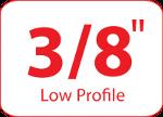 Podziałka układu tnącego 3/8 cala (niski profil)