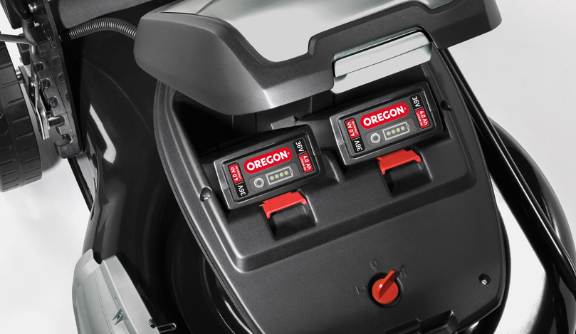 Możliwość zasilania z dwóch akumulatorów: Działa z 1 lub 2 akumulatorami